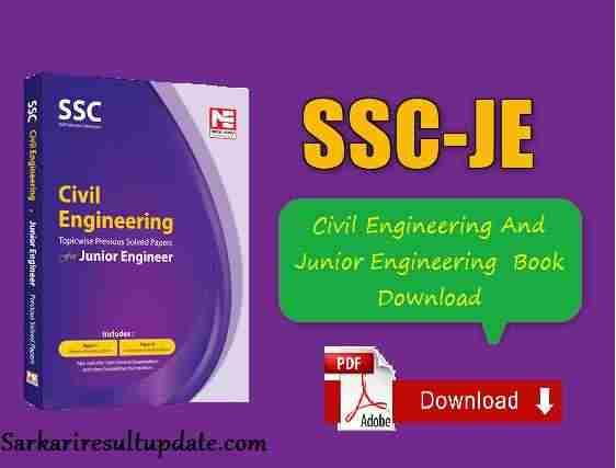 Ssc Je Civil Engineering Book Pdf Free Download