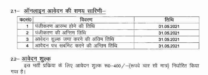 UP Police ASI Bharti 2021 Syllabus