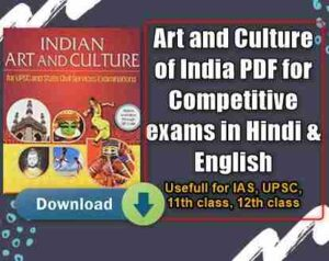Art and Culture of India PDF