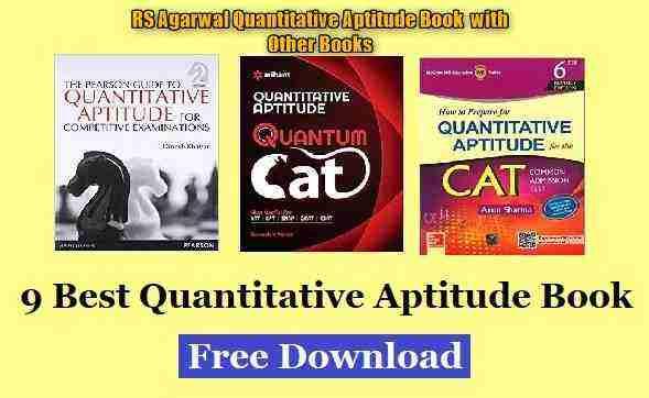 RS Agarwal Aptitude Book PDF
